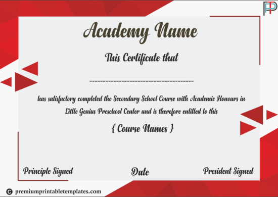 Academic-Diploma-Certificate