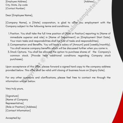 Business Letter for Marketing