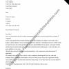 Chronological Resume Cover Letter