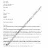 Printable Chronological Resume Cover Letter