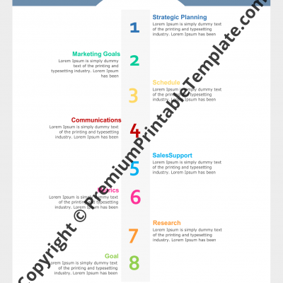 marketing timeline template