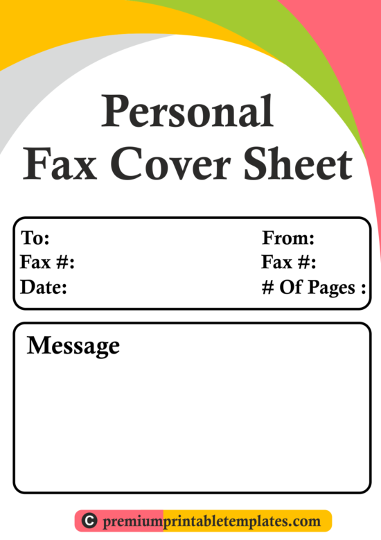personal-fax-cover-sheet