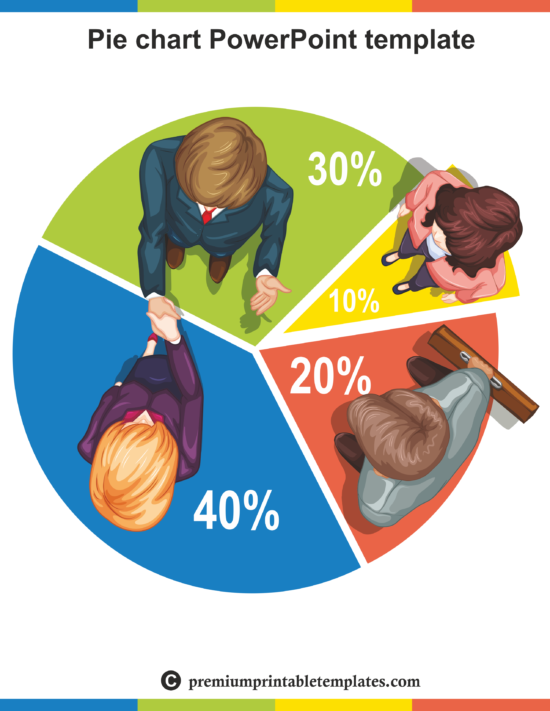 pie chart power point template