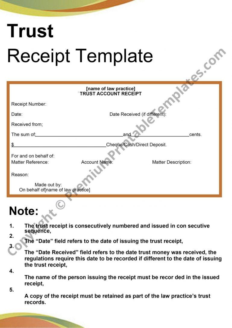 trust receipt pdf