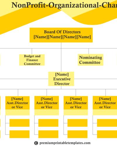 NonProfit-Organizational-Chart