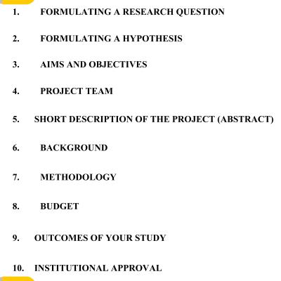 Scientific Grant Proposal Writing