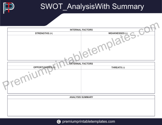 SWOT Analysis with Summery