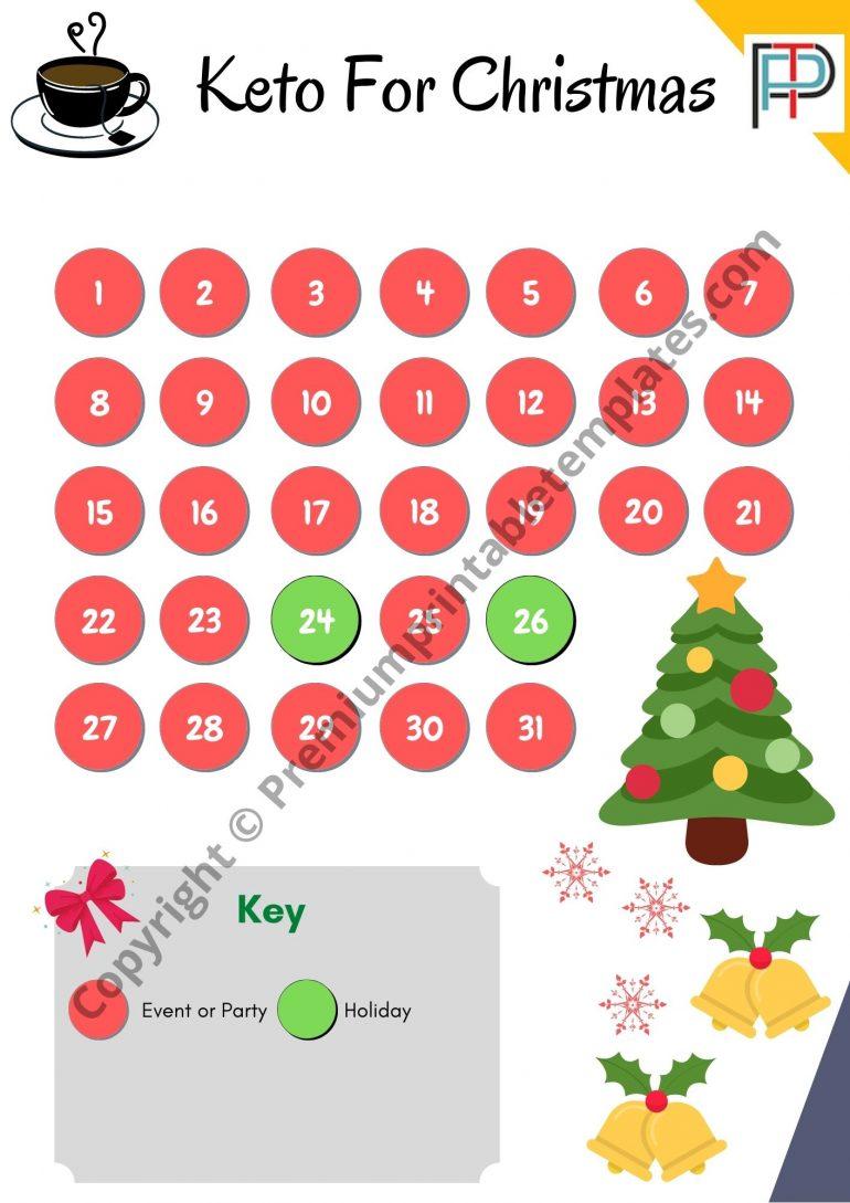 Keto for Christmas Tracker