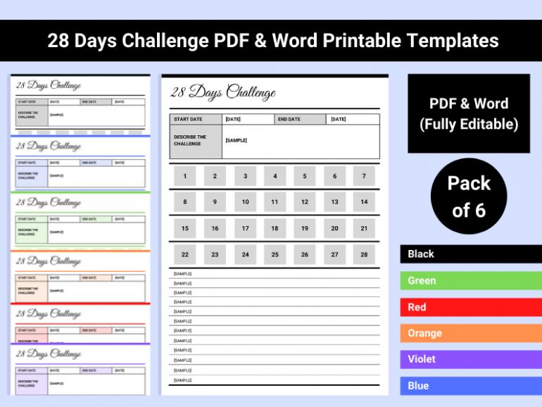 28 Days Challenge